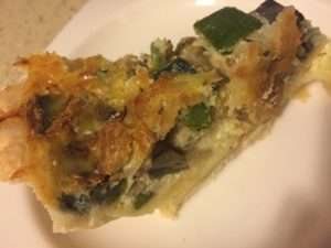 Fresh Recipe: Grilled Veggie Quiche