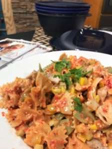 Fresh Recipe: Roasted Red Pepper Chicken Pasta